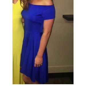 Royal Blue cocktail dress